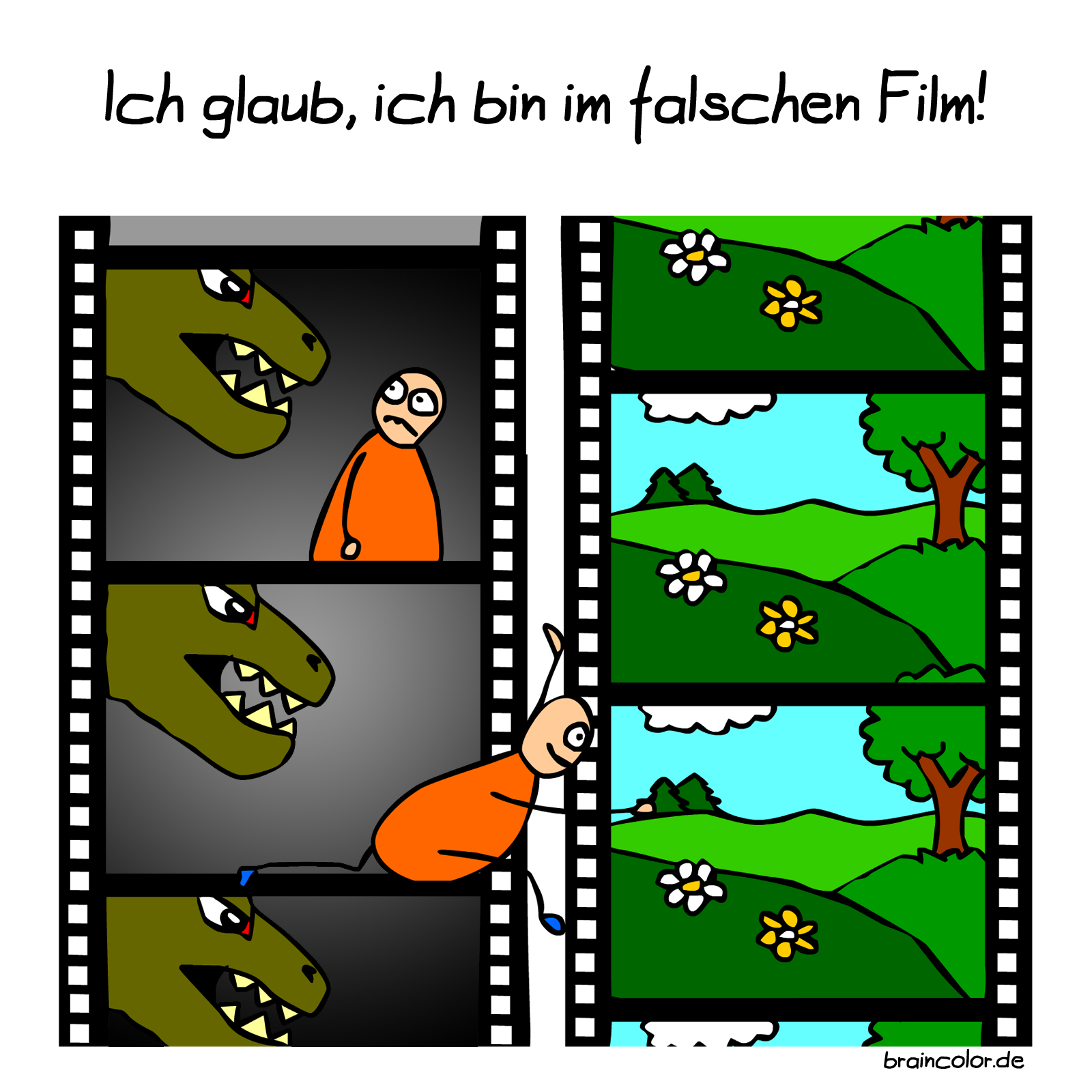 Falscher Film