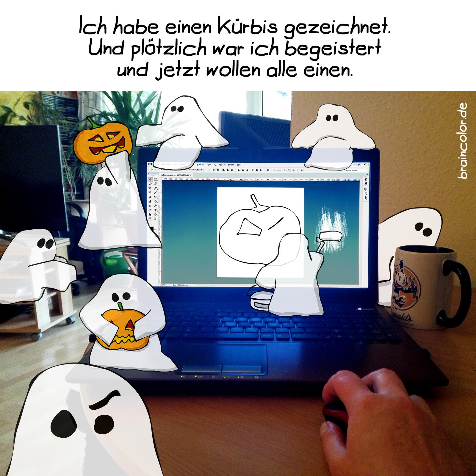 Halloween begeistert