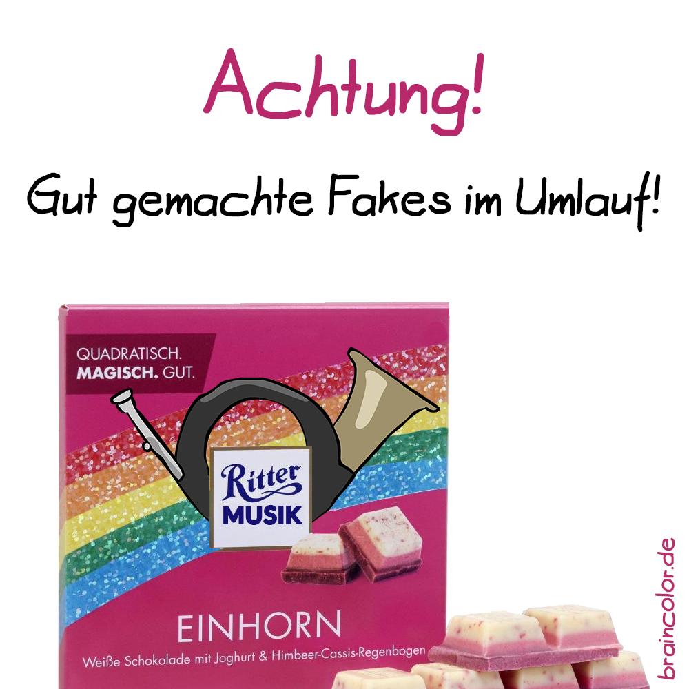 Einhorn-Schokolade