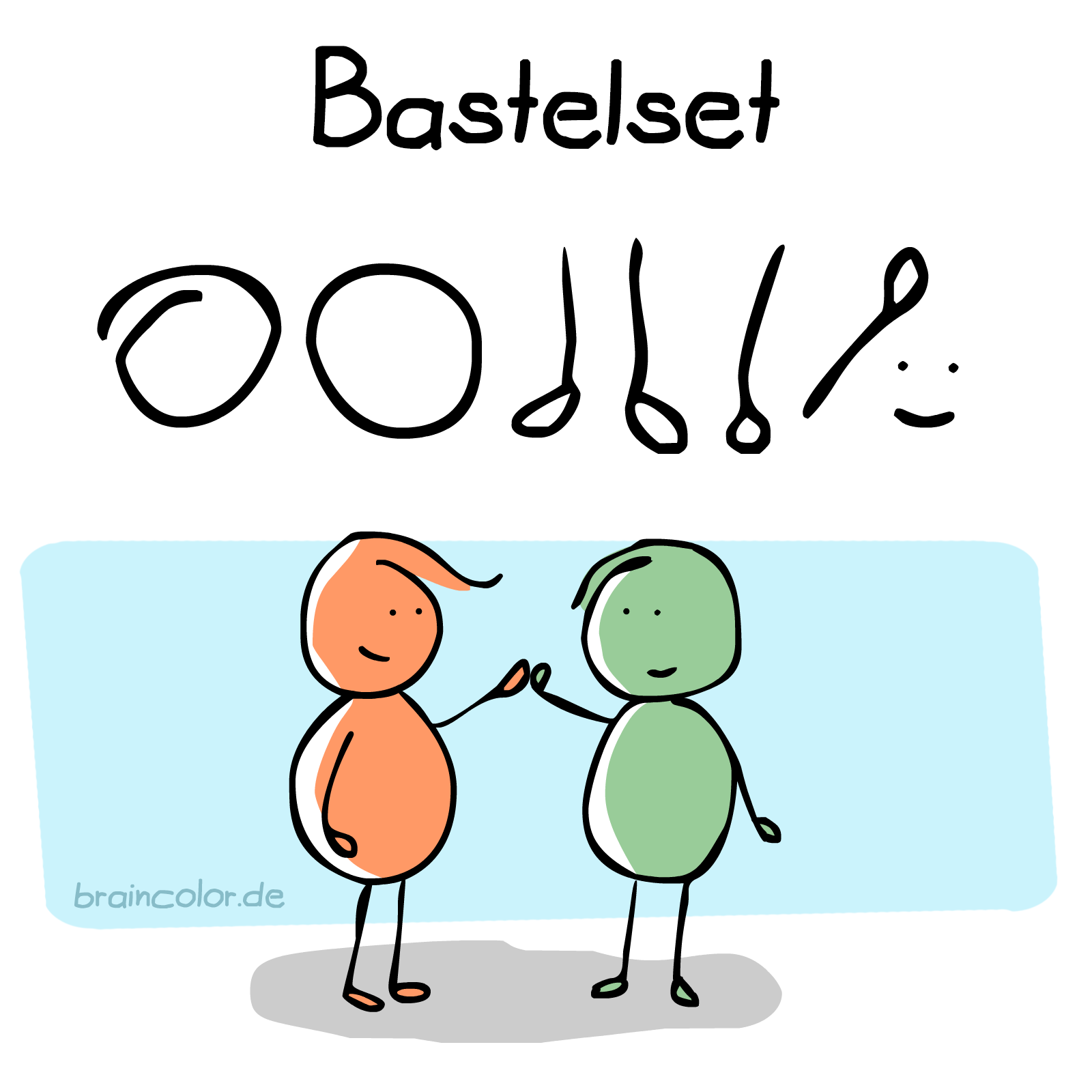 Bastelset DIY Anleitung Tutorial