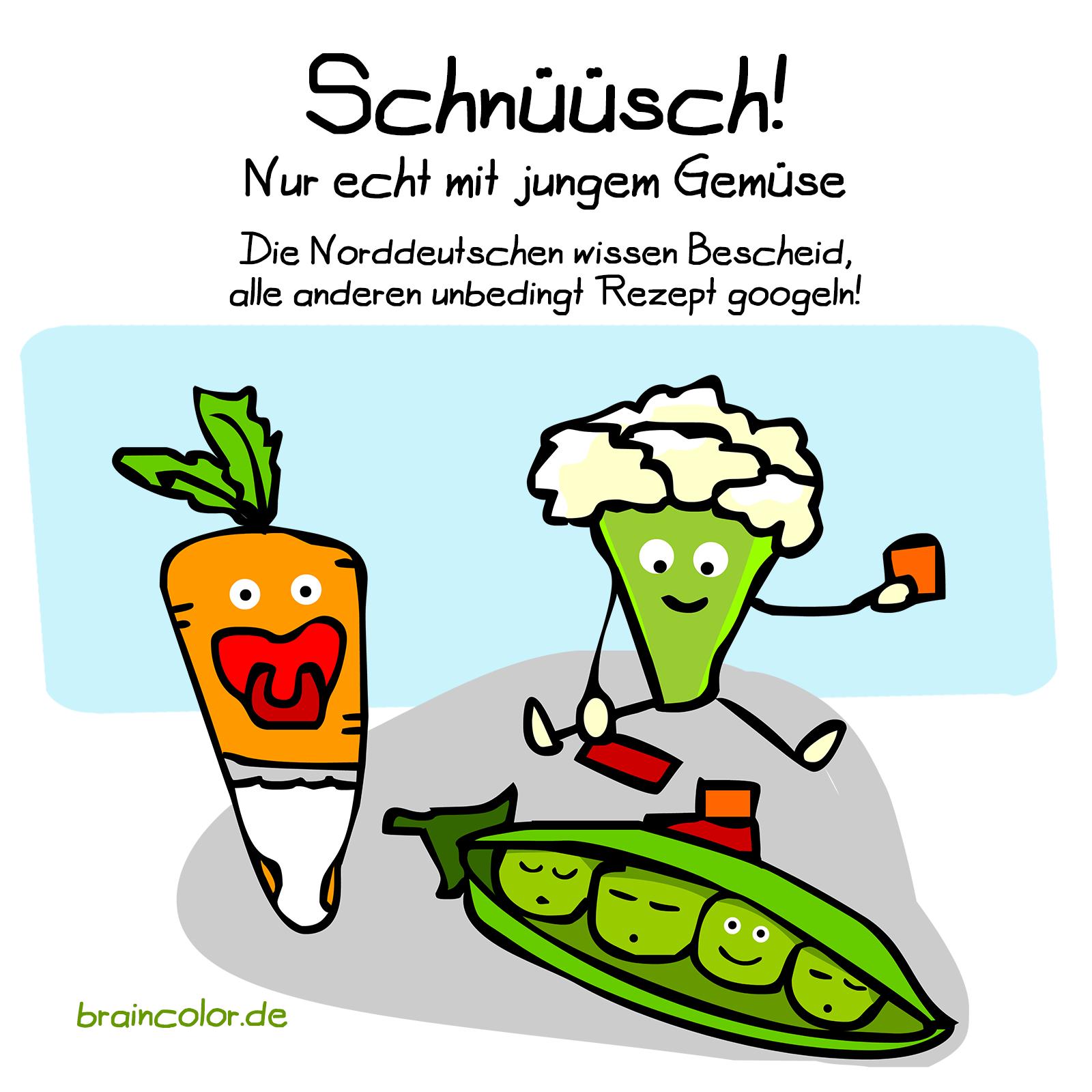 Junges Gemüse - Schnüsch