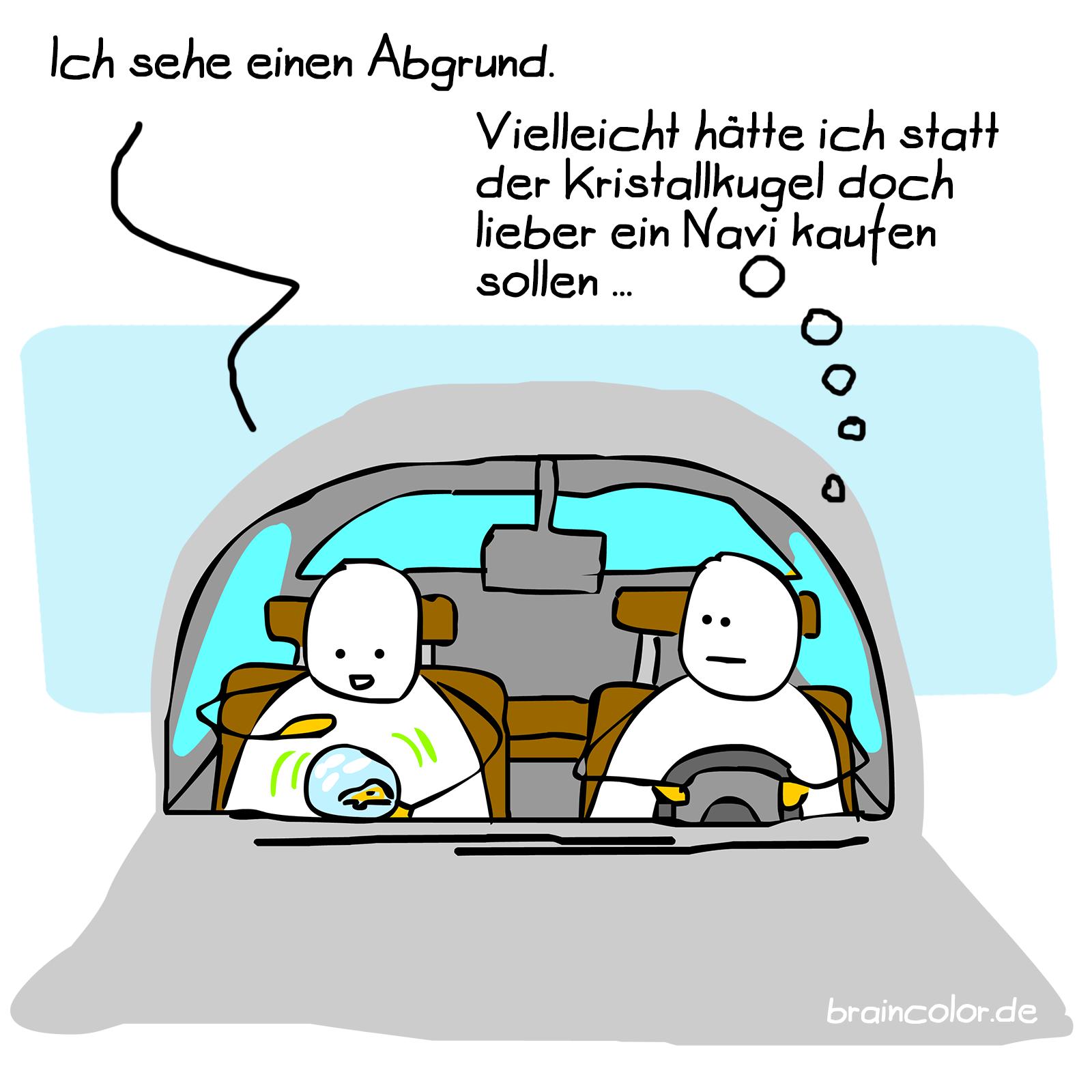 kristallkugel navigation