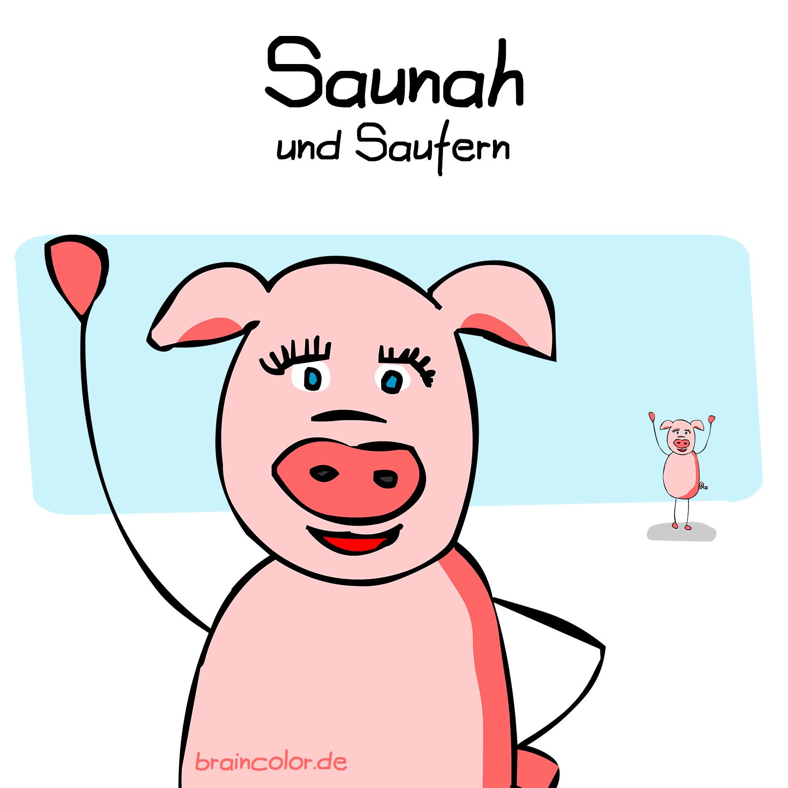 sauna #einbuchstabedaneben