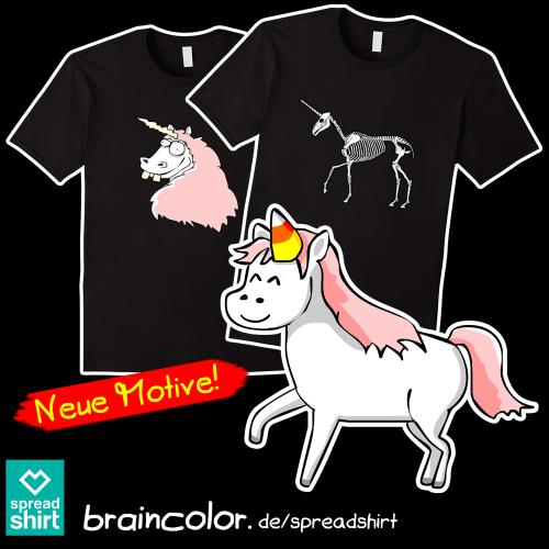 Einhorn T-Shirt Spreadshirt