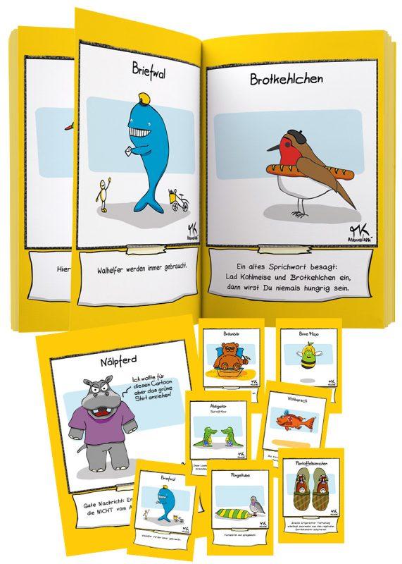 Geschenk-Idee! braincolor-Buch: einbuchstabedaneben