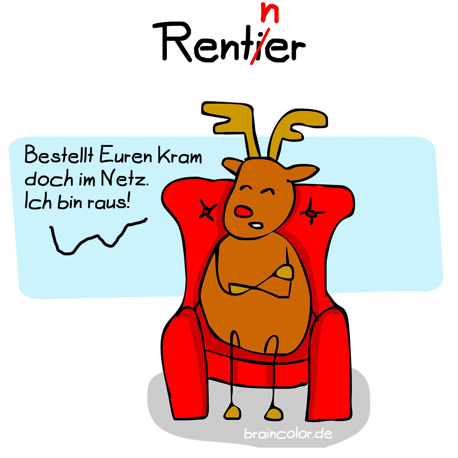 Rentner Rentier
