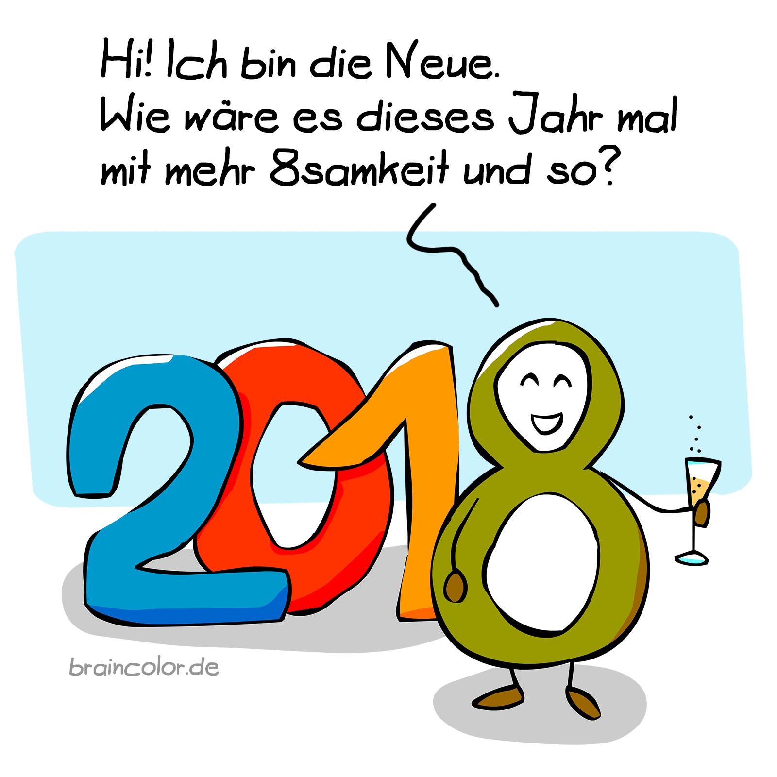2018 - Frohes neues Jahr!