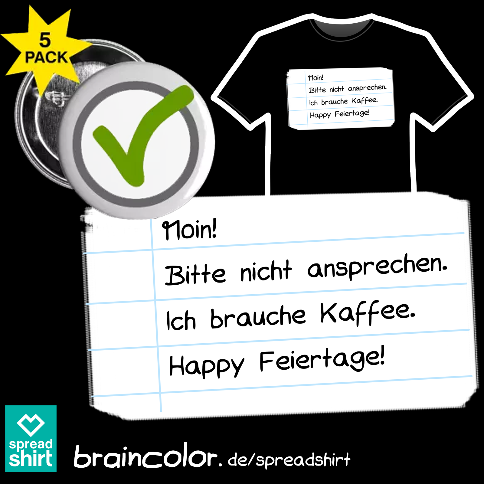 braincolor bei Spreadshirt