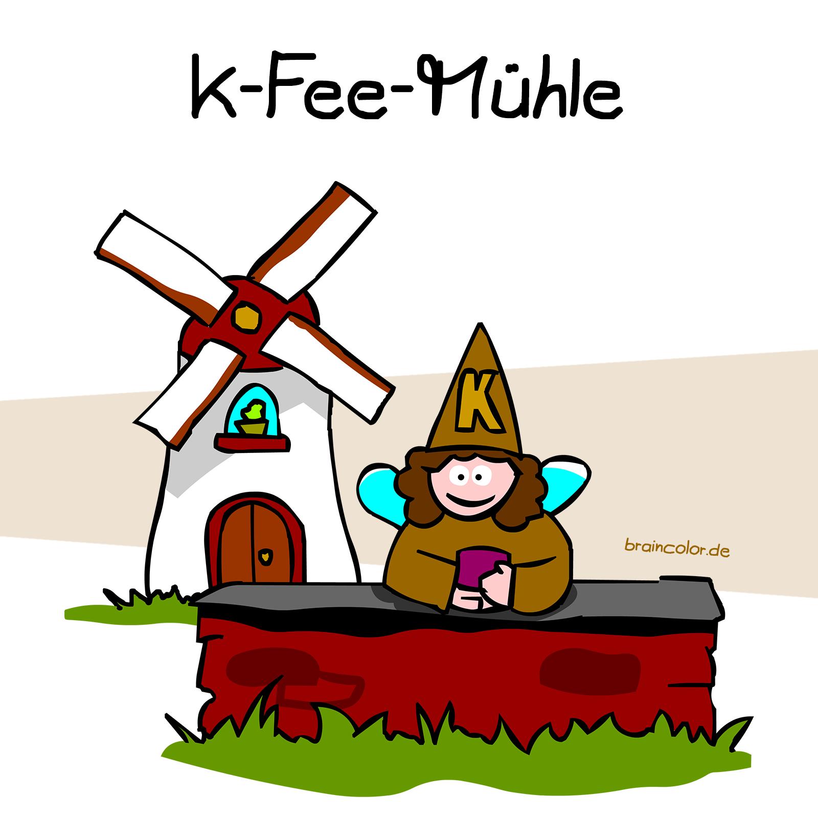 K-Fee-Mühle / Kaffeemühle